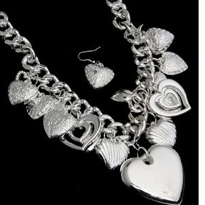 Jewelry - Light weight MULTI-STYLE HEART NECKLACE SET