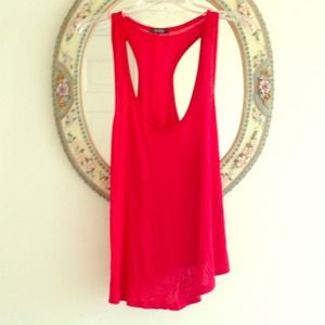 Tops - Red loose tank top