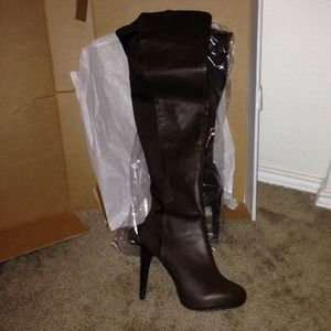 Boots - Victoria's Secret Colin Stuart OVER THE KNEE BOOTS