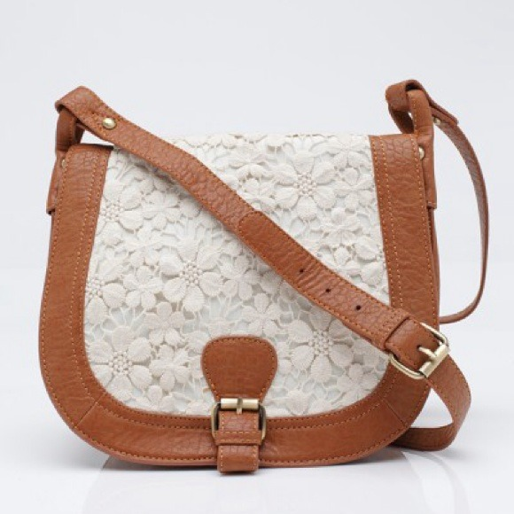 Need Supply Bags Lace And Leather Satchel Purse Poshmark