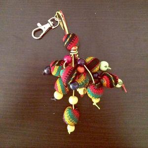 Accessories - Inka Fabric Handmade Keychain