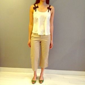 25% off Old Navy Pants - Khaki capris from Christin's closet on ...