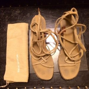 HUGE SALE!!!!!  AUTHENTIC MICHAEL KORS Espadrilles