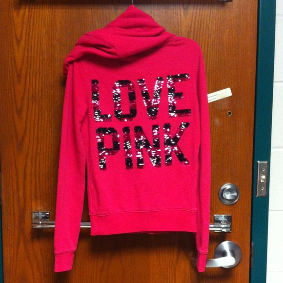 a6e6b9aab97e2 Victoria's Secret Sweaters | Sold On Vinted Vs Pink Bling Sequin ...