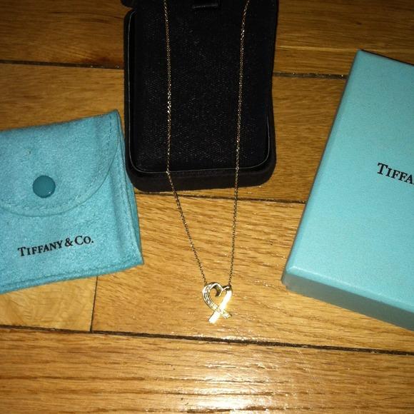 dd2c3c714 Tiffany & Co. Jewelry | Paloma Picasso 18k Loving Heart Necklace ...