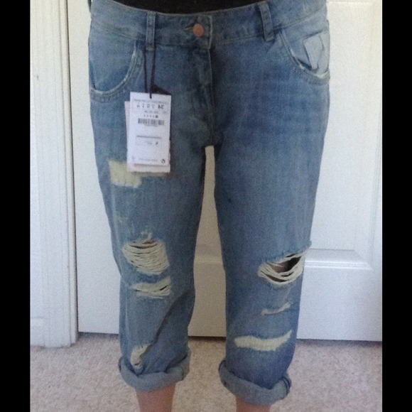 13% off Zara Denim  SOLD NWT Zara boyfriend jeans SOLD