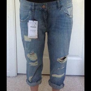 zara jeans sold nwt boyfriend sold poshmark. Black Bedroom Furniture Sets. Home Design Ideas