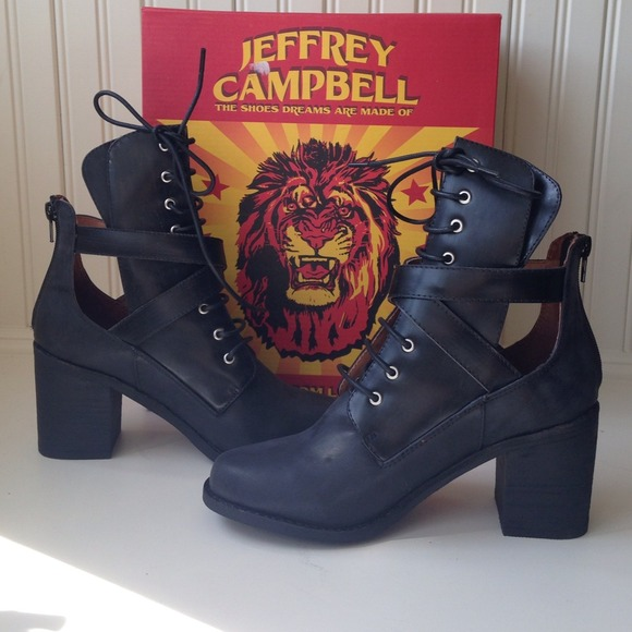 Jeffrey Campbell Shoes - *Host Pick* Buckle Combat Boots