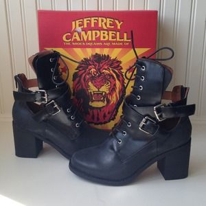 Jeffrey Campbell Shoes - *Host Pick* Buckle Combat Boots 1