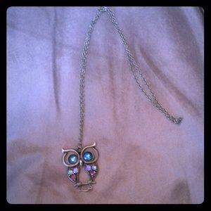 Host Pick!  Owl necklace