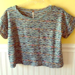 Free People Woven Crop Top Size XS