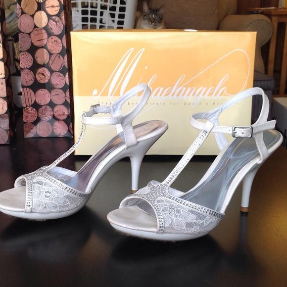 SOLDIvory Wedding Shoes Davids Bridal