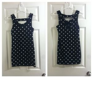 Dresses & Skirts - Tight polkadot dress