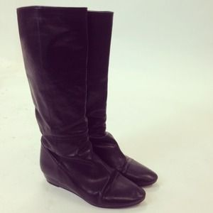 Loeffler Randall Matilde Flat Boot in Black