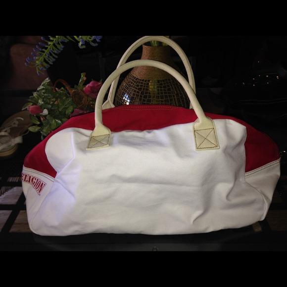 Authentic True Religion cotton duffle bag cea0488249a97