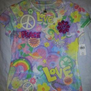 NWT Girls Disneyland T-Shirt Size Medium youth SIZ