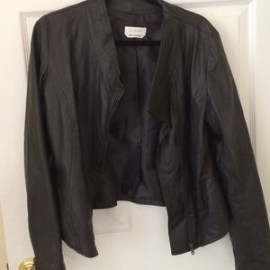 Jackets & Blazers - Thin leather jacket