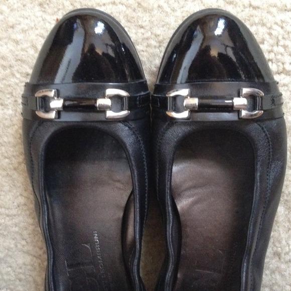 Agl Women S Shoes Black Velvet Flats