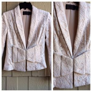 H&M Jackets & Blazers - 🎉🌟HP❗️🎉 H&M Lace Bow Jacket