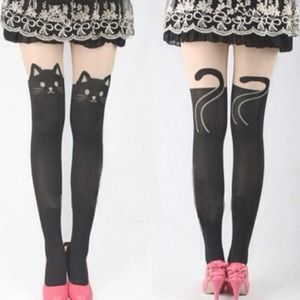 Accessories - Cat Tail Stocking Tights
