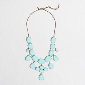 Host Pick! J. Crew teardrop necklace in navy color