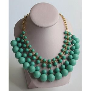 Jewelry - Turquoise Bubble Statement Necklace