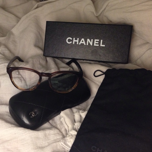 18% off CHANEL Accessories - New Chanel glasses frame ...