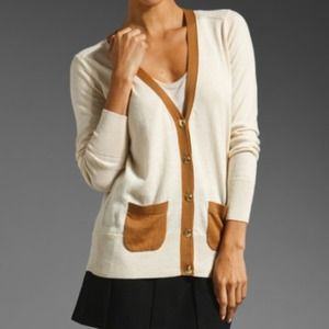 Juicy Couture Sweaters - Brand new juicy couture colorblock cardi