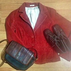 Burnt Orange Jacket Blazer