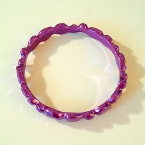 Marc Jacobs purple bangle