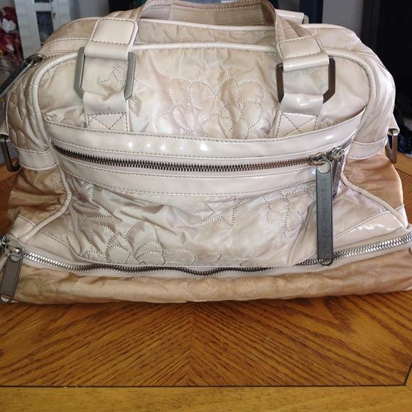 c22b1c5b9dd LeSportsac Handbags - Stella McCartney LeSportsac pink quilt bowler bag