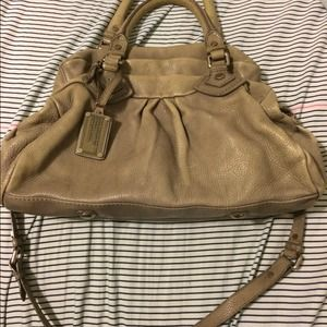 Marc Jacobs Groovee satchel in mushroom gray