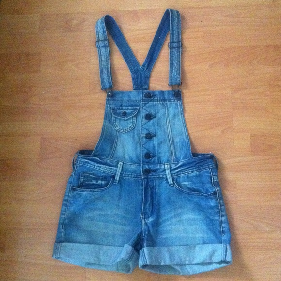 denim jumpsuit h&m