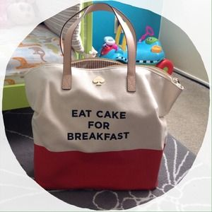 "Kate Spade ""Eat Cake For Breakfast"""