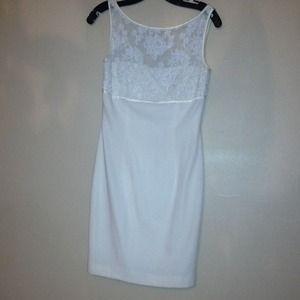 Vintage off-white dress size 4
