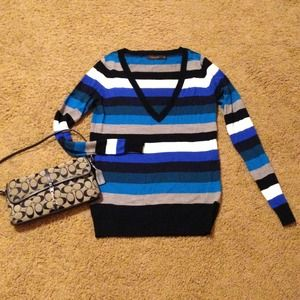 The Limited Sweaters - Soft Limited Striped Sweater