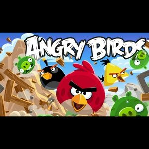 Angry birds party supply
