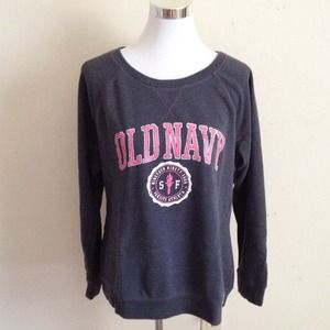 Old Navy Sweaters - Raglan Fleece Sweatshirt