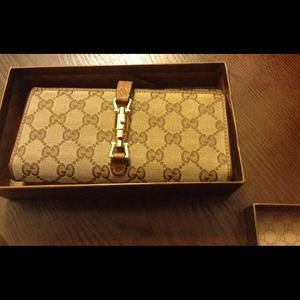 Gucci Brown Leather Wallet