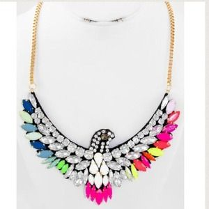 🌟Multicolor bird necklace🌟 Last one!!