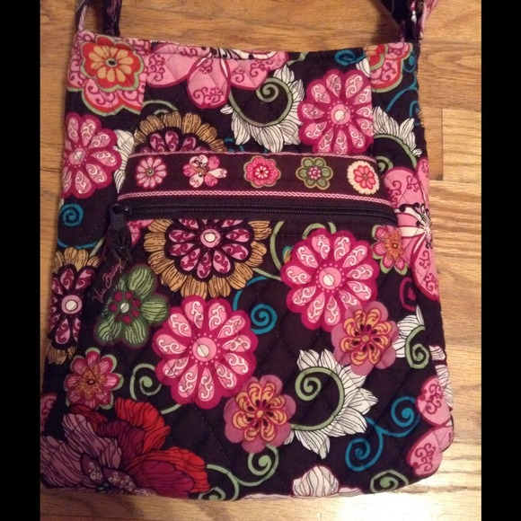 Vera Bradley Bags Hipster Retired Color Mod Floral Pink Poshmark Simple Vera Bradley Pattern Names