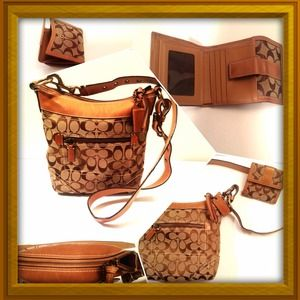 Coach Handbags - 💢SOLD💢COACH BUNDLE ONLY