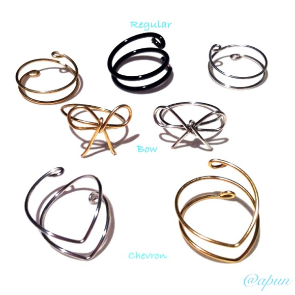 Accessories - 🎉HP🎉 4 Midi Knuckle Rings