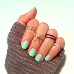 Accessories - 🎉HP🎉 4 Midi Knuckle Rings 1