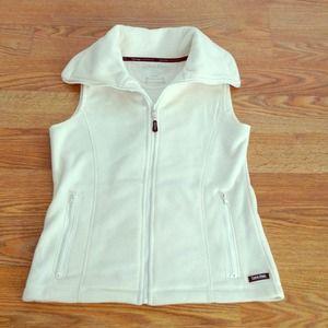 Calvin Klein Ivory Performance Vest!