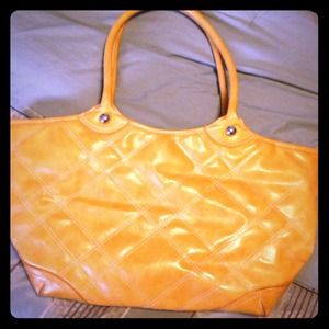 Purse mustard yellow