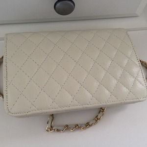 Bags - Reserved: Classy White Quilted Crossbody 2