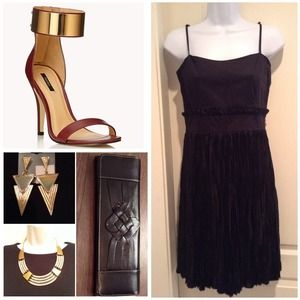 French Connection black dress $178