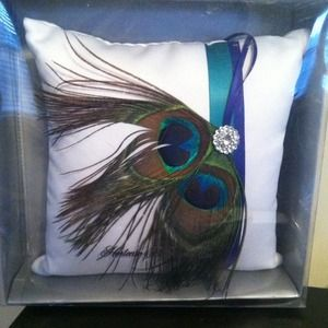 Other - Peacock Ring pillow