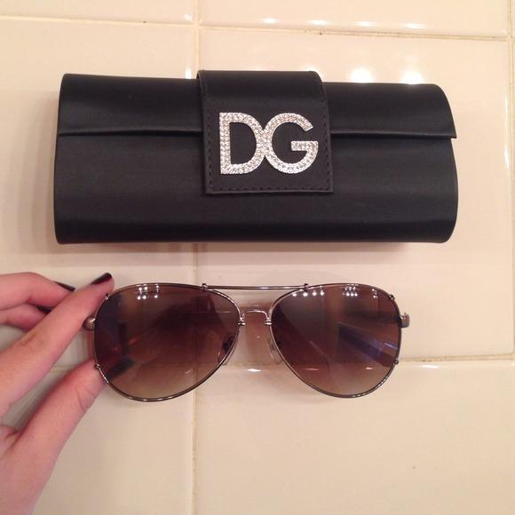 4c6d1ed314 Dolce   Gabbana Accessories - D G dolce and gabanna aviator sunglasses